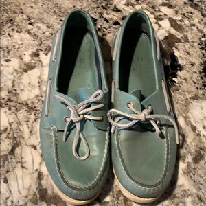 Sperry Top-Sider Light Blue Boat Shoes